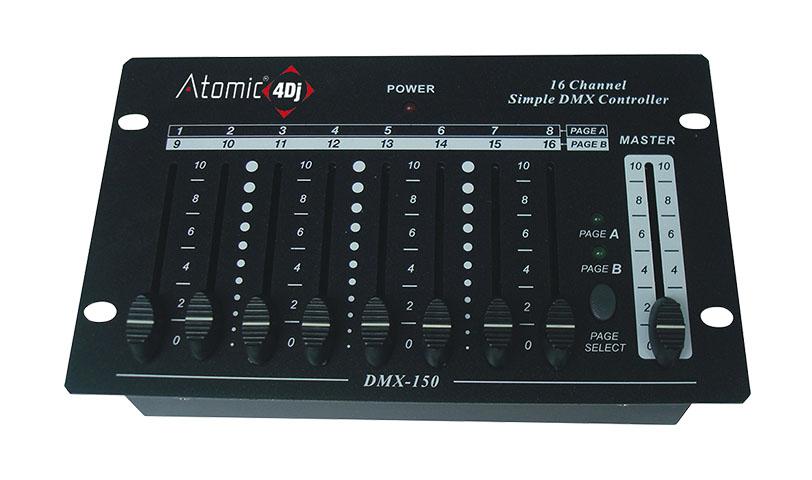Atomic4dj Mixer Luci 16 Canali