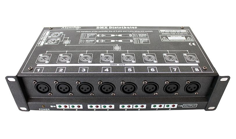 Splitter DMX 8 Canali