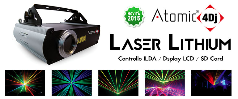 Atomic4DJ Laser Lithium 1500 RGB