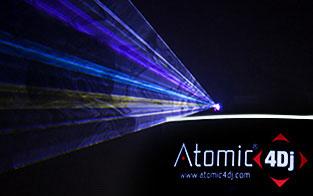 Laser Effects Atomic4DJ